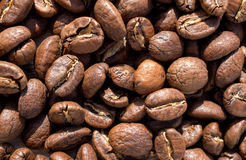 Roasted Coffee Beans background texture. Coffee beans, composition of coffee beans, coffee beans texture background,close-up stock image