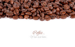 Roasted Coffee Beans background texture isolated stock photos