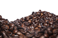 Roasted coffee beans, blend aroma Royalty Free Stock Image