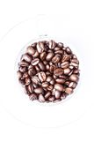 Roasted coffee beans can be used as a background. Roasted coffee beans, can be used as a background Royalty Free Stock Image