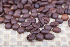 Roasted coffee. Beans, can be used as a background Stock Photo