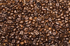 Roasted coffee beans. Can be used as a background Royalty Free Stock Photos