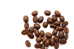 Roasted coffee beans, can be used as a background Stock Images