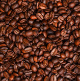 Roasted coffee beans, can be used. As a background stock photography