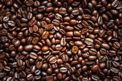 Roasted coffee beans. Roasted coffee beans, can be used as a background Royalty Free Stock Photos