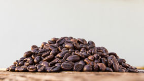 Roasted coffee beans Royalty Free Stock Images