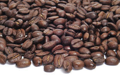 Roasted coffee beans Stock Photography
