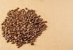 roasted coffee beans royalty free stock photo