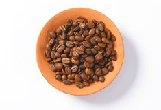 Roasted coffee beans Royalty Free Stock Image