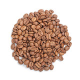 Roasted coffee beans pile Stock Photos