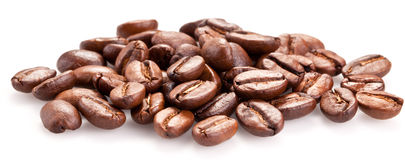 Roasted coffee beans. Royalty Free Stock Image