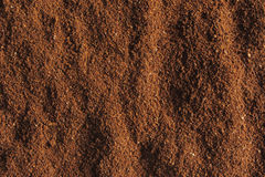 Roasted coffee ground Royalty Free Stock Photography