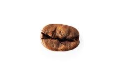 Roasted coffee, isolated macro Stock Image