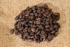 Roasted Coffee Seeds Royalty Free Stock Photo