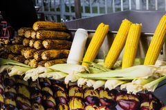 Roasted corn Royalty Free Stock Photos