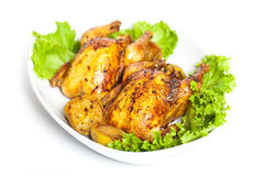 Free Roasted Cornish Hen Royalty Free Stock Photos - 32497928