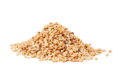 Roasted crushed peanuts Royalty Free Stock Image