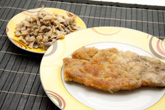 Roasted Cutlets Royalty Free Stock Photo