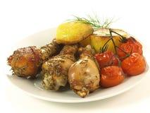 Roasted dish,  Royalty Free Stock Image