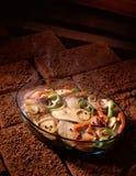 Roasted dos peixes Imagem de Stock