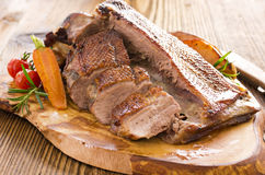 Roasted Duck Breast Fillet Royalty Free Stock Images