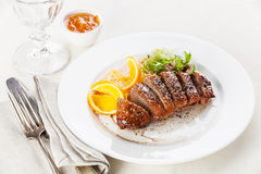 Roasted Duck Breast Stock Image