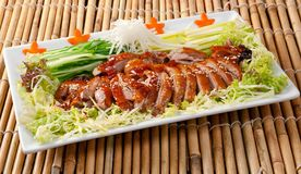 Roasted duck, Chinese style Royalty Free Stock Photo