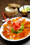 Roasted duck, Chinese style Stock Images