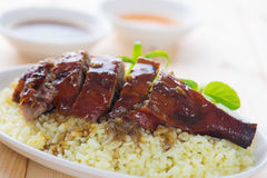 Roasted duck, Chinese style Stock Photography