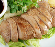 Roasted duck, Chinese style  . Stock Photos