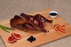 Roasted duck. Royalty Free Stock Photos