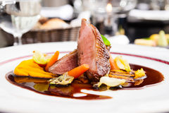 Roasted duck fillet Royalty Free Stock Images