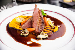 Roasted duck fillet Stock Image