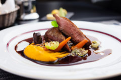 Roasted duck fillet Royalty Free Stock Photo