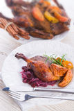 Roasted duck Stock Images