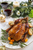 Roasted Duck for Holiday Royalty Free Stock Photo