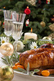 Roasted Duck for Holiday Stock Images
