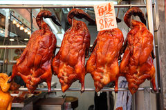 Roasted Ducks Royalty Free Stock Photo