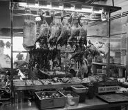 Roasted ducks at the restaurant in Nanning, China Royalty Free Stock Images