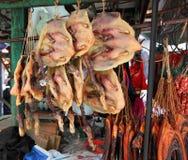 Roasted ducks Royalty Free Stock Image