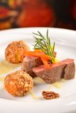 Roasted fillet mignon Royalty Free Stock Images