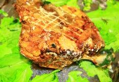 Roasted fish Royalty Free Stock Image