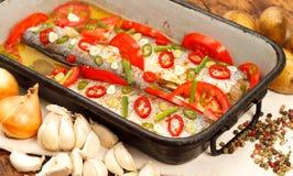 Roasted fish Royalty Free Stock Photo