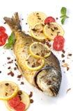 Roasted fish  Dorado Stock Images