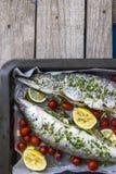Roasted fish Stock Photos