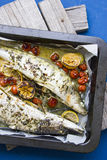 Roasted fish Stock Photography
