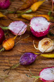 Roasted garden vegetables Royalty Free Stock Image