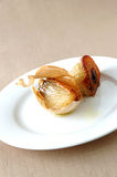 Roasted garlic Stock Photography