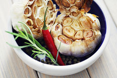 Roasted garlic Royalty Free Stock Photos