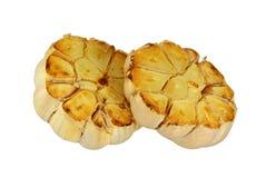Roasted Garlic. Lightly roasted garlic cloves Royalty Free Stock Image
